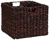Haushalt Essentials Korbgeflecht Lagerplatz für Regale, braun, Storage