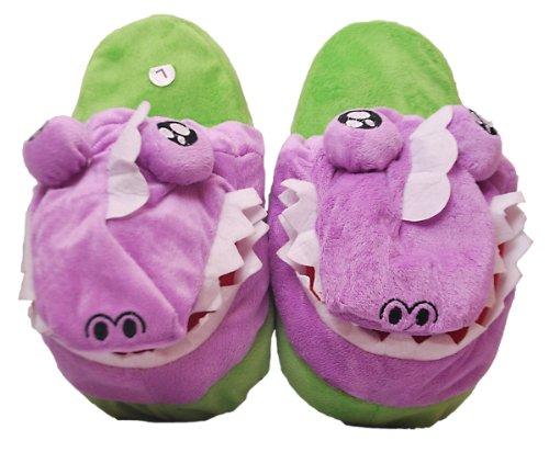 b8d1a631ddd5ab Fluffy Flopz - Zapatillas de estar por casa para niño