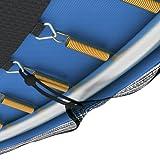 Ampel 24 Trampolin Ø 305 cm blau oder grün | Gartentrampolin Komplettset mit verstärktem Sicherheitsnetz | belastbar bis 150 kg | 2 Ausführungen | Extra Schutz - 7