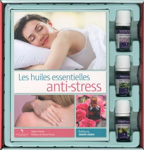 Huiles anti-stress : Coffret livre + huiles essentielles