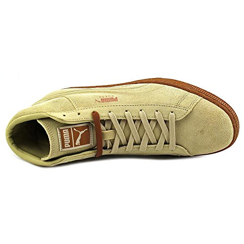 Puma Suede Mid Emboss Sneakers pale khaki-chipmunk