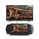 Spielkonsole 10000 Spiele Eingebauter 8GB 4.3 '' 32Bit Tragbarer Handheld Videospiel Konsolen Spieler Geschenk für Kinder