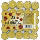 Prices Citronella - Velas de té (25 unidades, aromatizadas)