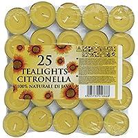 CB las importaciones Citronella velas de té (25unidades)