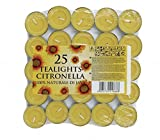 CB Import Citronella Tea Lights (Set of 25)