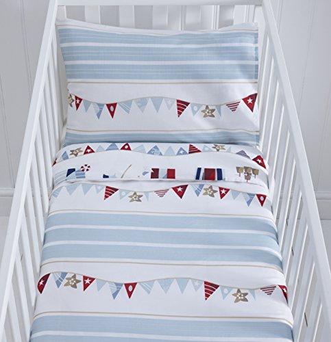 Reversible Nautical Themed Cot D...