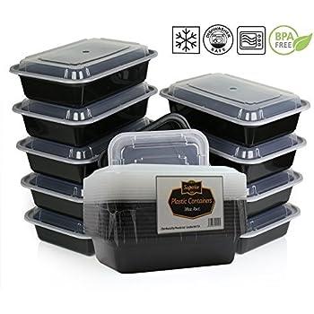HDIUK Aufbewahrungsboxen, Lebensmittelbehälter mit Deckel