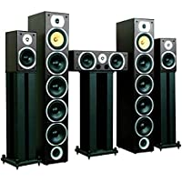 Sistema altavoces home cinema Beng V9B. 5 canales, 1240W max