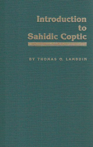 Introduction to Sahidic Coptic: New Coptic Grammar