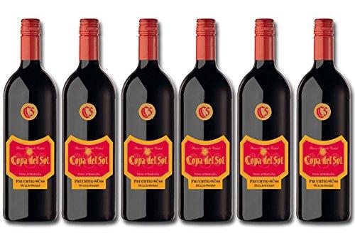 Copa del Sol Fruchtig-Süß Rotwein (6 x 1 l)