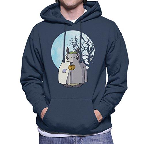 My Neighbour Totoro Halloween Trick Or Treat Ghost Men's Hooded Sweatshirt