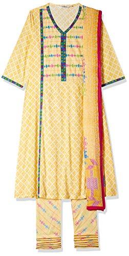 BIBA Women's A Line Salwar Suit
