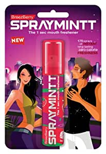 Spraymintt Mouth Freshener (Brezeberry) 15g