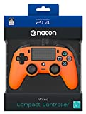 NACON PS4OFCPADORANGE Gamepad Playstation 4 Orange - Spiele-Controller (Gamepad, Playstation 4, Analog/Digital, Share, Verkabelt, Orange)