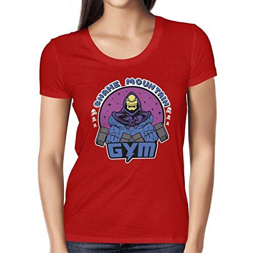 TEXLAB - Snake Mountain Gym - Damen T-Shirt Rot