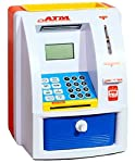 This Super Personal ATM Machine is going to get kids jump with joy. It has super functions and features: something that the kids can actually operate, just like an ATM Machine. They can try practicing withdrawing money and coins with its own security...