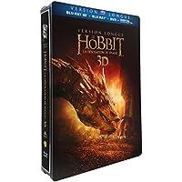 Der Hobbit: Smaugs Einöde-Lange Version-Blu-ray 3D + Blu-ray + DVD + Digital Ultraviolet-Limitierte Edition steelbooktm Jumbo