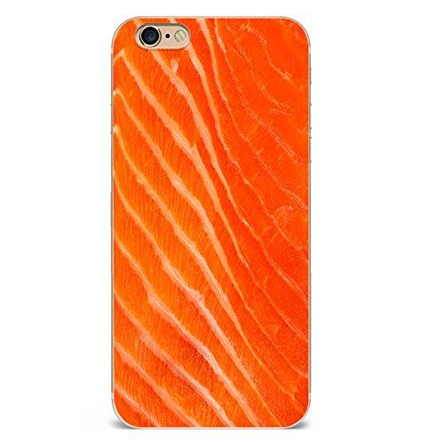Iphone 6plus Hülle Kreativ Interessant Lachs Schokolade Muster Silikon TPU Schutzhülle Ultradünnen Case Schutz Hülle für iPhone 6plus/6splus YM114
