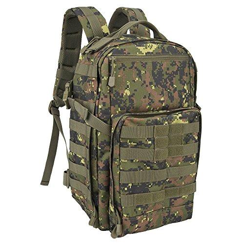 Oleader 30L Taktischer Rucksack Militär Molle 3 Tage Angriffspackung Sturm-Rucksack für Wandern Schießen Camping Trekking Jagd im Freien (3-tages-rucksack)