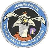 Star Wars Jabba 's Palace Grau Bordüre bestickt abzeichen Patch Aufnäher oder zum Aufbügeln 10cm
