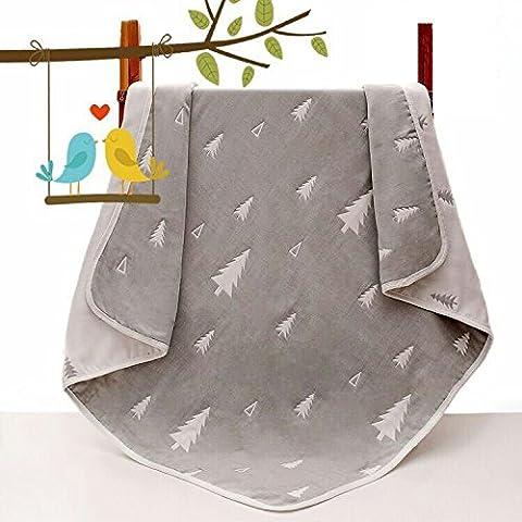Claee Baby Bath Towel, Baby Bath Towel Layer, Children'S Pure Cotton Baby Kindergarten Air Conditioner Is Wholesale,Slack Count,110*110Cm