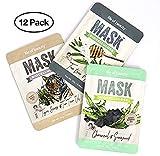 10 VOLTE PIÙ EFFICACE Le nostre maschere sono 10 volte più efficaci nell'idratare la pelle delle maschere in cotone. In altre parole servirebbero 10 maschere in cotone per avere lo stesso risultato di idratazione e nutrimento della pelle dell...