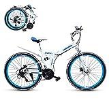 Portable Pliable Vélos,Double Système Antichoc,21 Vitesses 24' /26' Roues,First...
