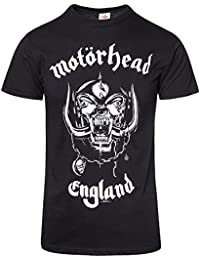 Official Motorhead England T Shirt (Schwarz)
