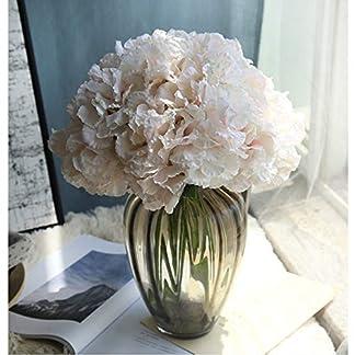 Heaviesk Seda Artificial Flores Falsas hortensias peonía Nupcial Ramo de Flores de Seda para el hogar de Bricolaje decoración del Partido Natural Realista