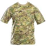 Kombat UK hombres adultos camuflaje camisetas, hombre, color BTP (British Terrain Pattern), tamaño S
