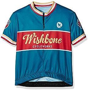 Wishbone 3204 - Los niños Camisa de la Bicicleta, tamaño S, Azul