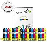 Colour Direct - 20 Compatible cartouches d'encre - 5 jeus 29XL Remplacement Pour...