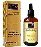 Blended Valley Aromaterapia Aceite DIOSA - Mezcla Afrodisiaco para Humidificador, Quemador Incienso, Difusor. Aceites Esenciales Lavanda, Ylang-Ylang, Bergamota y Sándalo en Aceite de Albaricoque.