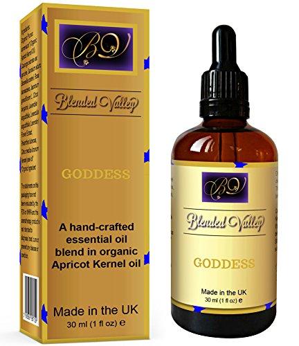 Aromaterapia Olio Afrodisiaco DEA - Per Diffusore Oli Essenziali o Bruciatore Incenso. Olio Eessenziale Lavanda, Limone, Incenso, Gelsomino, Rosa, Ylang-Ylang e Sandalo in Olio di Albicocca.