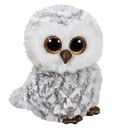 Binney & Smith (Europe) Ltd- TY Beanie Babies Owlette Cm.15 37201, Multicolore, 829196