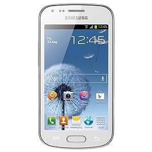 Samsung Trend Plus S7580 Smartphone débloqué 3G+ (Ecran : 4,0 pouces 4 Go Simple SIM Android) Blanc