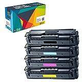 Do it Wiser ® 4 Kompatible Toner CLT-P504C für Samsung Xpress SL-C1860FW CLX-4195FW CLX-4195FN SL-C1810W CLP-415 CLP-415N CLP-415NW CLP-470 CLP-475 CLX-4195N | CLT-K504S CLT-C504S CLT-M504S CLT-Y504S