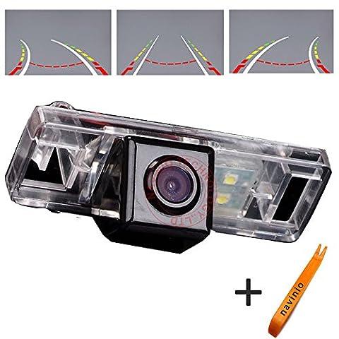 Nissan Sunny - Dynavsal 170 ° Affichage Sony CCD Trajectoires