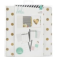 American Crafts Heidi Swapp Large Memory Planner: Gold Foil Dots, Großer Terminkalender mit Gold-Folienpunkten, Acryl, Mehrfarbig