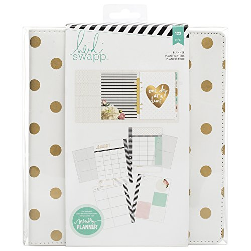 heidi-swapp-large-memory-planner-gold-foil-dots