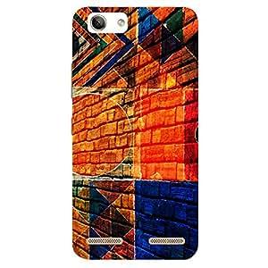 Multicolor Wall - Mobile Back Case Cover For Lenovo Vibe k5 Plus