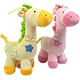 Sealive Popular Child's Toys Super Soft Plush Rag Doll Giraffa Infant Toy Funny Music Bed Lullaby Playing Baby Toy For Gifts