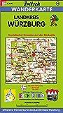 Fritsch Karten, Nr.83, Landkreis Würzburg (Fritsch Wanderkarten 1:50000) -
