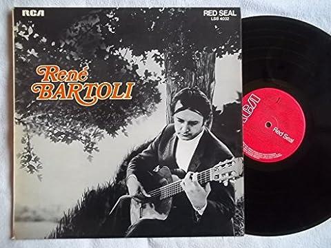 LSB 4032 RENE BARTOLI Guitar vinyl LP