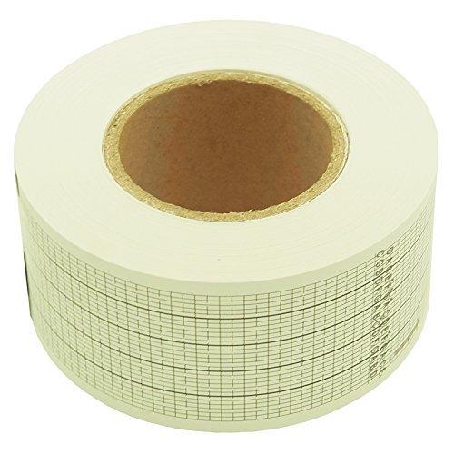 30tiras de nota en blanco de música caja recambio papel blanco para Handcrank caja de música movimiento