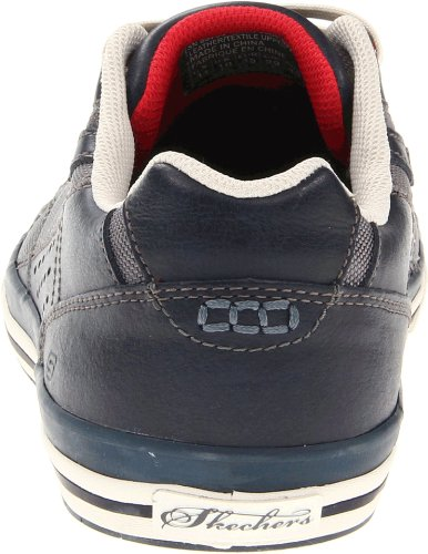 Skechers Diamondback Tevor, Baskets mode homme Bleu (Nvy)