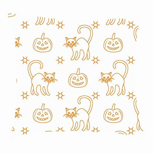 dfgi Halloween 2019 Pumpkins Holidays Throw Pillow Covers Cotton Linen Cushion Cover Cases Pillowcases Sofa Home Decor 18