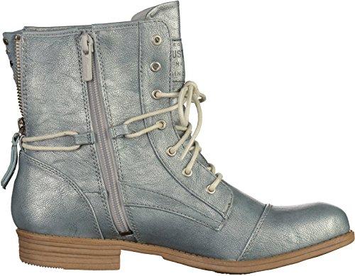 Mustang Damen 1157-542-203 Combat Boots Grau(Heaven)