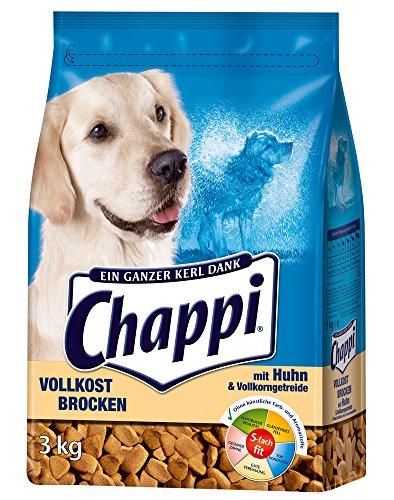 Chappi Brocken mit Huhn, Vollkorn 3 x 3 kg