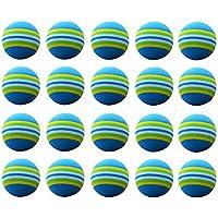winomo 20unidades Golf Swing 38824Indoor práctica Esponja Espuma Bolas para principiantes, niños y aficionados (Azul)